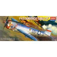 Истребитель P-47D Bubble Top