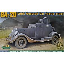 Бронеавтомобиль БА-20, ранний