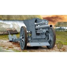 Немецкая полевая гаубица leFH 18 105mm
