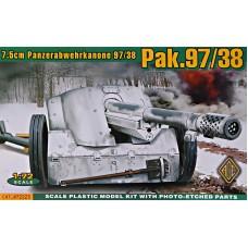 Германская 75mm противотанковая пушка Pak.97/38