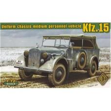 Kfz.15 германский штабной автомобиль