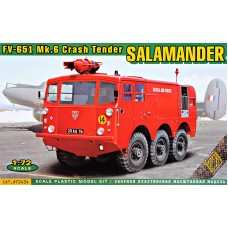 Аэродромная пожарная машина FV-651 Mk.6 Salamander