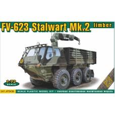 Плавающий тягач Stalwart Mk-I (FV-620)