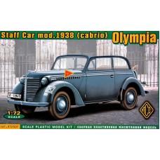 Штабная машина Olympia (кабриолет), 1938 г.