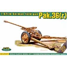 Немецкая полевая пушка 7.62см Pak.36 (r)