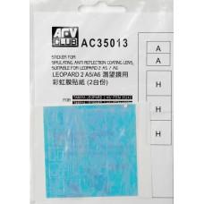 Наклейка для имитации анти-бликового покрытия линз для Leapard 2 A5/A6