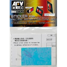 Наклейка для имитации анти-бликового покрытия линз для M1A1 AIM / M1A2 SEP