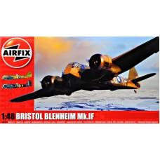 Британский легкий скоростной бомбардировщик Bristol Blenheim Mk.IF