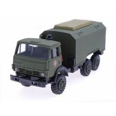 Автомобиль Камаз, Национальная гвардия, штабной кунг, вариант 1