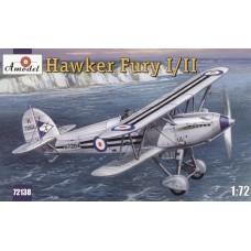 Hawker Fury I/II Морской истребитель-биплан ВВС Великобритании