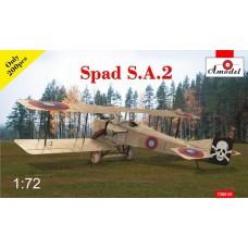 Истребитель-биплан SPAD S.A.2