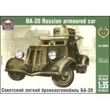 Советский легкий бронеавтомобиль БА-20
