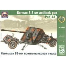 Немецкая 88-мм противотанковая пушка PaK 43