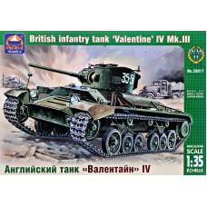 "Британский пехотный танк ""Valentine"" IV Mk.III"