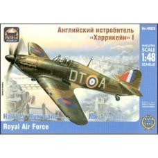 Британский истребитель Hurricane Mk.1