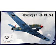 Германский истребитель Messerschmitt Bf-109 B-1