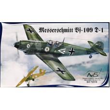 Messerschmitt Bf-109D-1 WWII German fighter