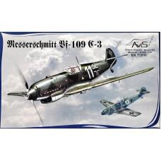 Messerschmitt Bf-109C-3 WWII German fighter