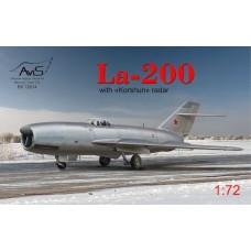 """Истребитель Ла-200 с радаром """"Коршун"""""""