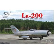 """Истребитель Ла-200 с радаром """"Toriy"""""""