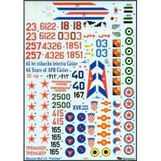 MiG-21 decal