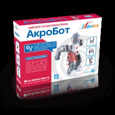 АкроБот - танцующий робот. Детский развивающий конструктор