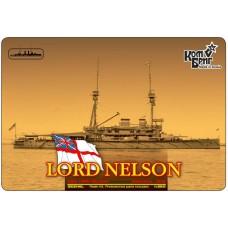 Броненосец HMS Lord Nelson Battleship, 1908 (Full Hull version)