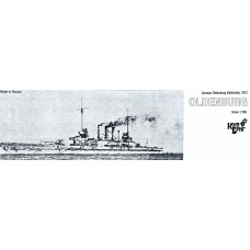 """Немецкий корабль """"Oldenburg"""", 1912 г."""