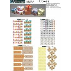 Упаковка (коробка Нова почта, Ин-тайм, Рошен, ящик от банан)