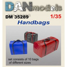 Аксессуары для диорамы. Дорожные сумки, 10 шт.