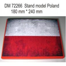 """Подставка для моделей """"Польша"""""""