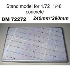 """Подставка для моделей """"Бетонка"""" №3 (290x240)"""