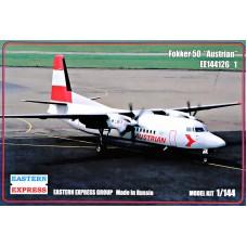 Пассажирский самолет Fokker 50 Austrian