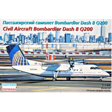 "Пассажирский самолет Dash 8 Q200 ""United Express"""