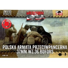 Польская 37-мм противотанковая пушка Бофорс с пехотой (2 шт)