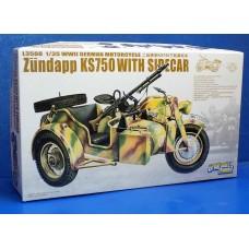 Мотоцикл с коляской Zundapp KS 750 (Цундапп) и прицепом