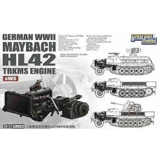Немецкий двигатель Maybach HL42