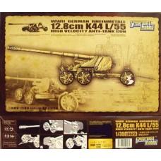Немецкая противотанковая пушка 12.8cm K44 L/55 / German Rheinmetall 12.8cm K44 L/55 Anti-Tank Gun