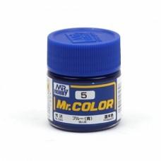 "Краска эмалевая ""Mr. Color"" синяя, 10 мл"