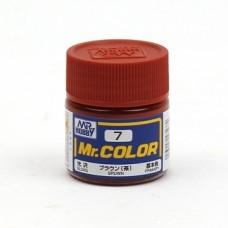 """Краска эмалевая """"Mr. Color"""" коричневая, 10 мл"""