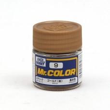 """Краска эмалевая """"Mr. Color"""" золото, 10 мл"""