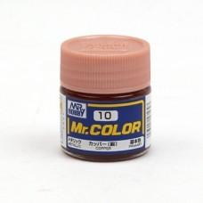 """Краска эмалевая """"Mr. Color"""" медь, 10 мл"""