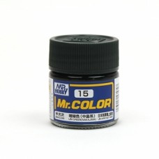 """Краска эмалевая """"Mr. Color"""" зеленая, ВМФ Японии (Nakajima), 10 мл"""