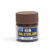 """Краска эмалевая """"Mr. Color"""" темно-земельная, 10 мл"""