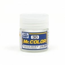 """Краска эмалевая """"Mr. Color"""" матовая база, 10 мл"""