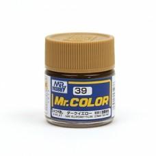 """Краска эмалевая """"Mr. Color"""" темно-желтая, 10 мл"""