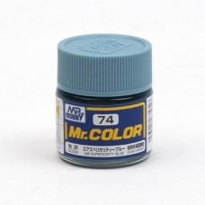 """Краска эмалевая """"Mr. Color"""" воздушное превосходство синего, 10 мл"""