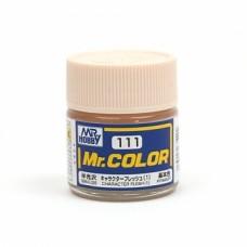 """Краска эмалевая """"Mr. Color"""" телесная - 1 полуматовая, 10 мл"""