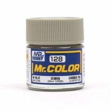 "Краска эмалевая ""Mr. Color"" серо-зеленая, 10 мл"