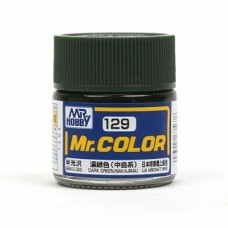 "Краска эмалевая ""Mr. Color"" темно-зеленая (Nakajima), 10 мл"